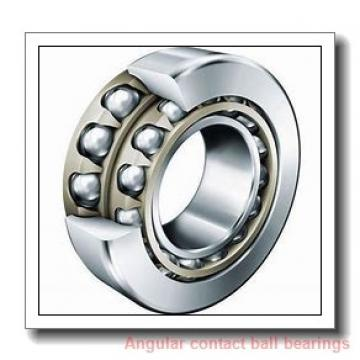 1.181 Inch | 30 Millimeter x 2.835 Inch | 72 Millimeter x 0.748 Inch | 19 Millimeter  TIMKEN 7306WN SU  Angular Contact Ball Bearings