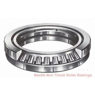 1.125 Inch | 28.575 Millimeter x 1.375 Inch | 34.925 Millimeter x 0.75 Inch | 19.05 Millimeter  IKO YB1812  Needle Non Thrust Roller Bearings