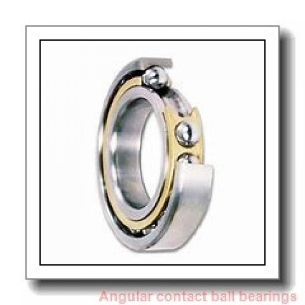 0.984 Inch | 25 Millimeter x 2.047 Inch | 52 Millimeter x 0.811 Inch | 20.6 Millimeter  SKF 3205 EW/VS112  Angular Contact Ball Bearings #1 image